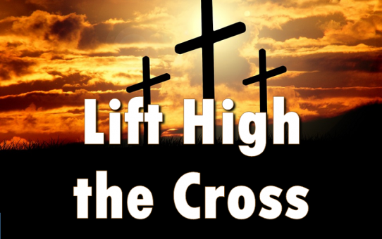 Eyes Lifted High on the Cross